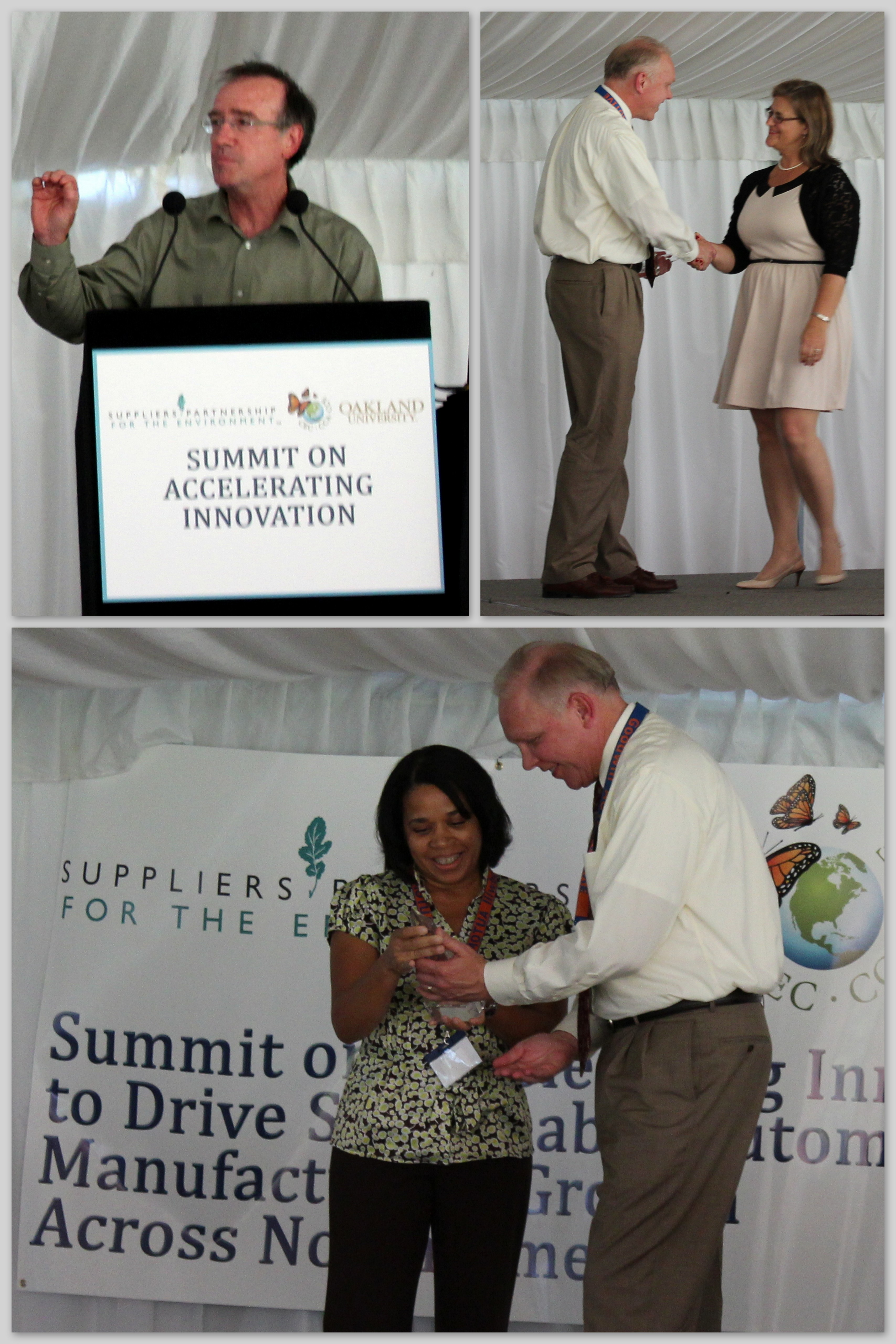 SP Presents GM, Gage Products Company and International Products Corporation with Sustainable Innovation Awards