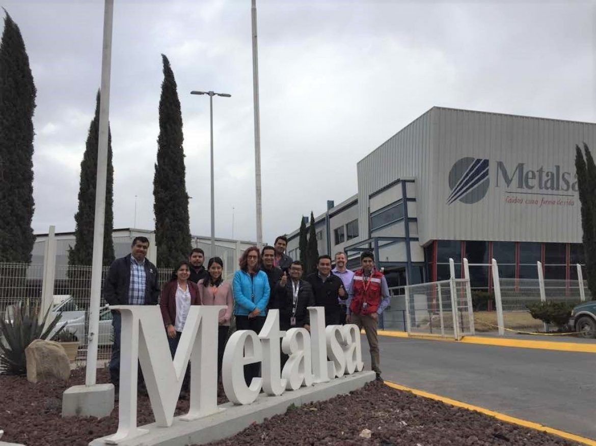 AVA members collaborate on multi-media assessment of Metalsa plant in Saltillo, Mexico