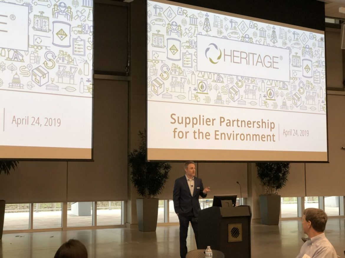 Heritage Hosts the 2019 2nd  Quarter Meeting of Suppliers Partnership for the Environment