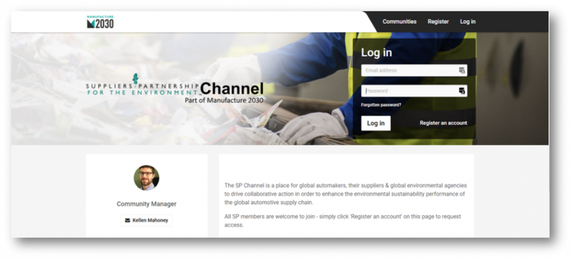 SP launches member engagement channel on Manufacture 2030 platform