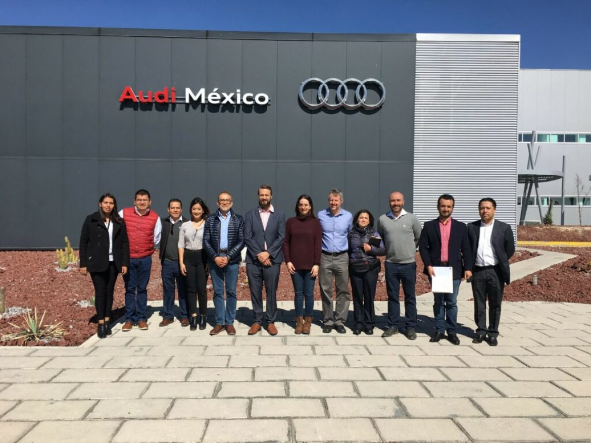 AASA Members tour Audi Mexico