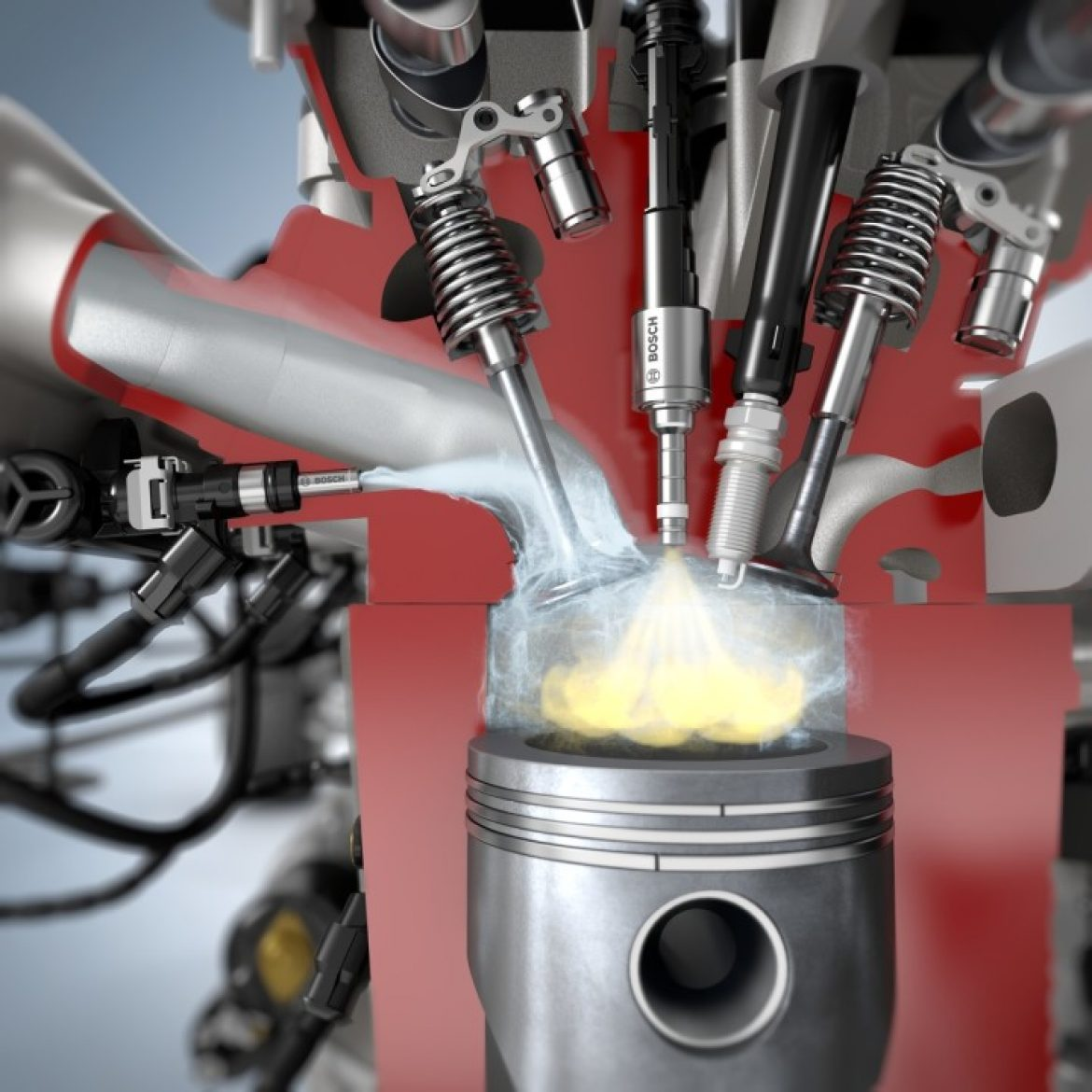 Bosch water injection innovation reduces fuel consumption by up to 13 percent