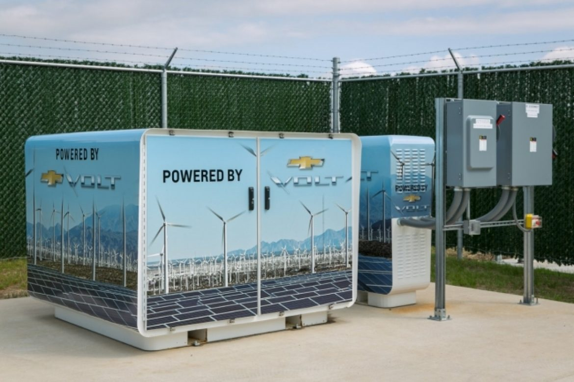 GM Battery Reuse Earns an Environmental Leader Top Project of the Year Award
