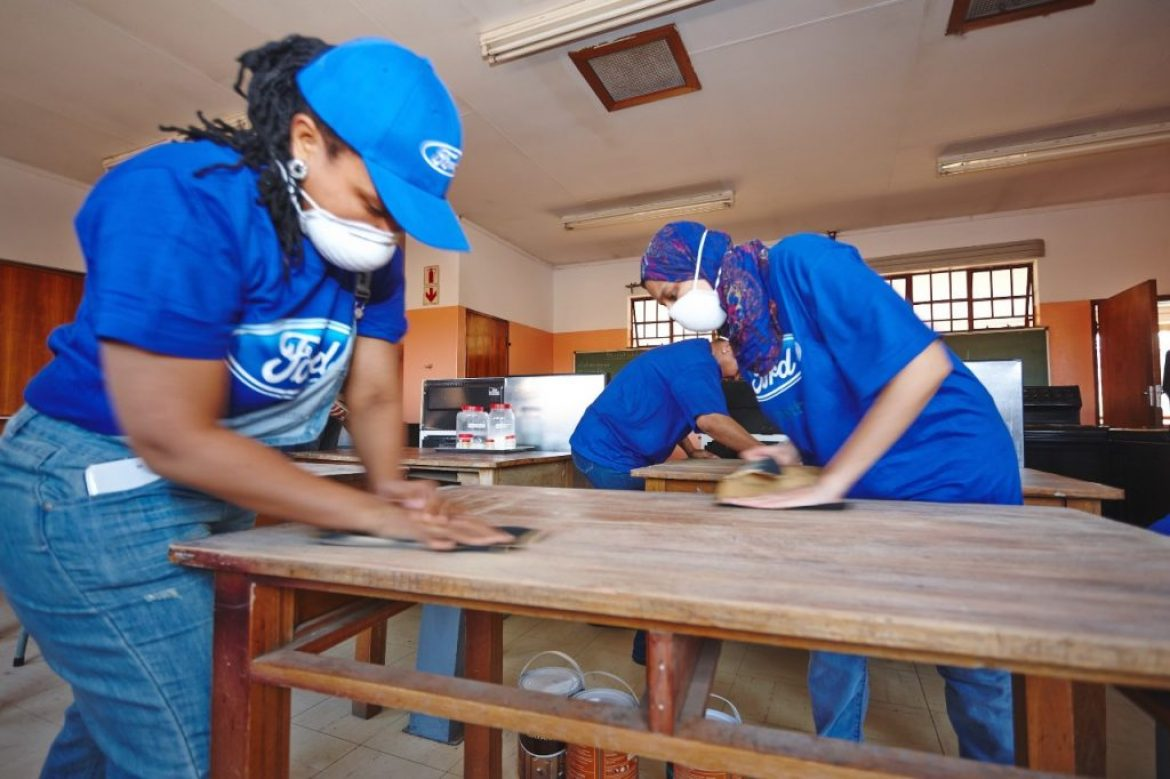 Ford Volunteer Corps Begins Global Caring Month with Transformational Clean Water Project, Challenge Grants