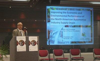 CEC Workshop on September 7, 2011