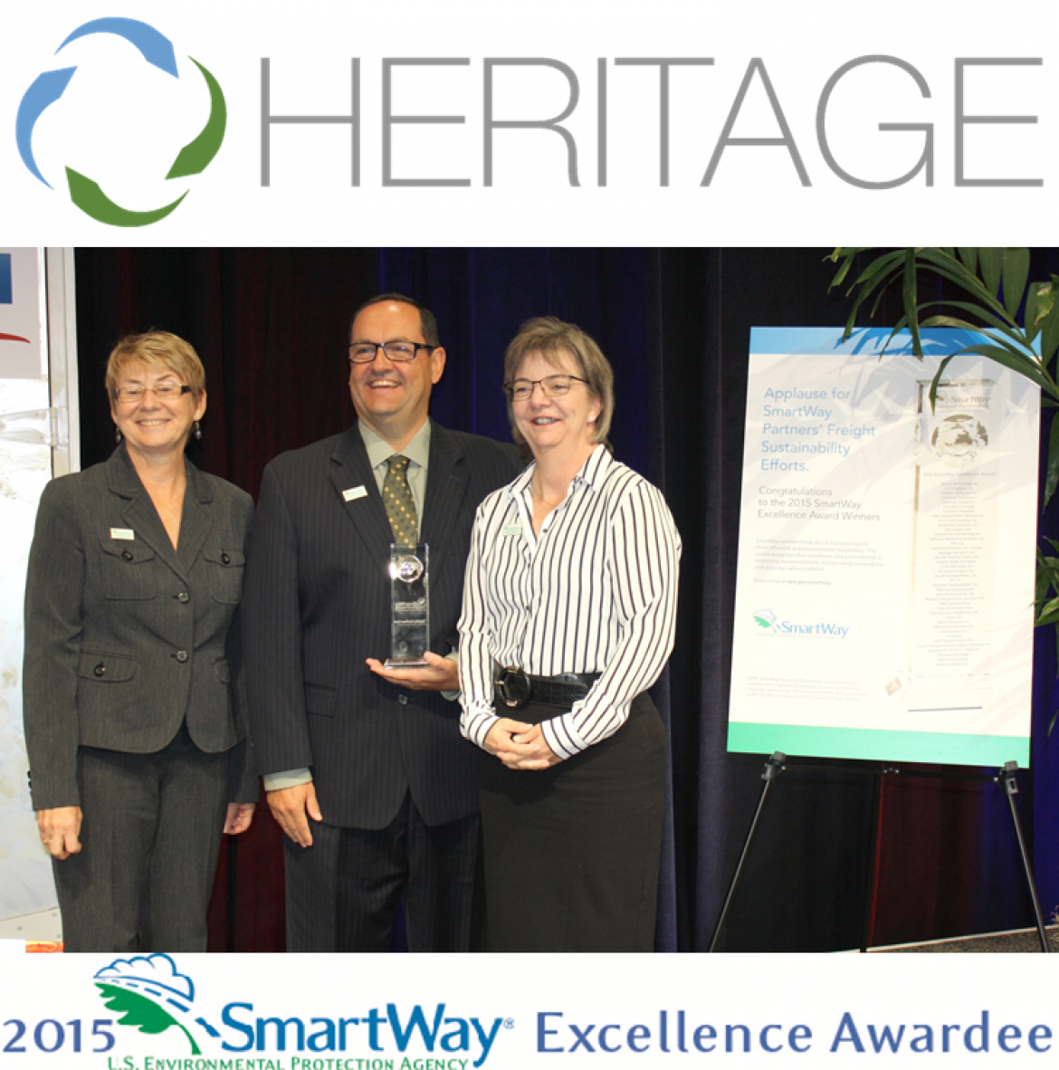 EPA SmartWay Honors Heritage Transport, LLC