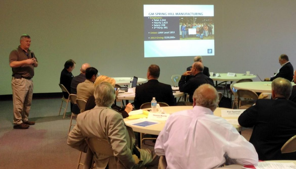 GM Spring Hill Manufacturing Hosts Fall SP Membership Meeting