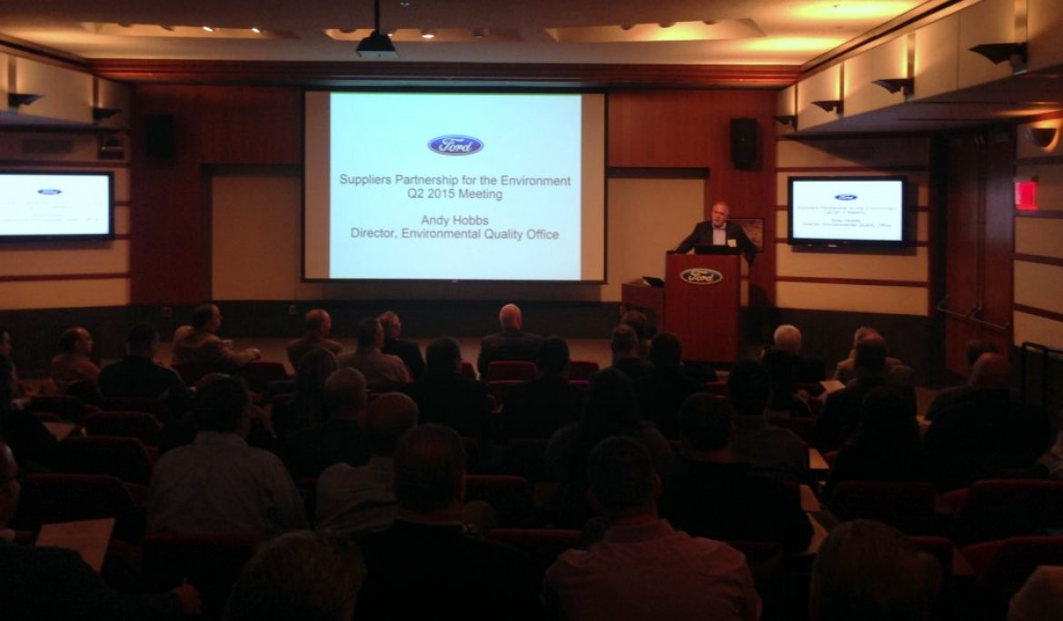 SP Meets at Ford Research and Innovation Center