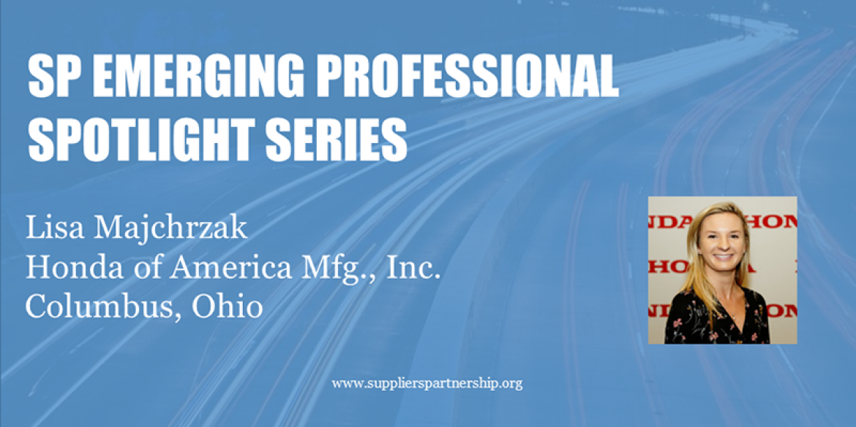 SP Emerging Professional Spotlight: Lisa Majchrzak, Honda