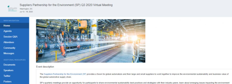 SP Q3 Virtual Meeting Update